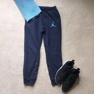 Air Jordan Navy Blue Boys Sweatpants
